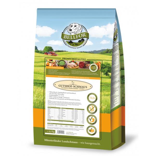 Huhn, Truthahn & Entenfleisch - Tockenfutter Freilandschmaus