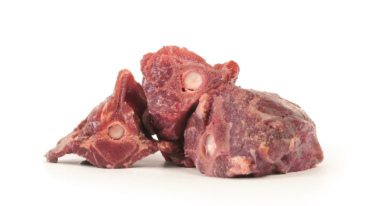 Fleischknochen vom Hirsch - 500g