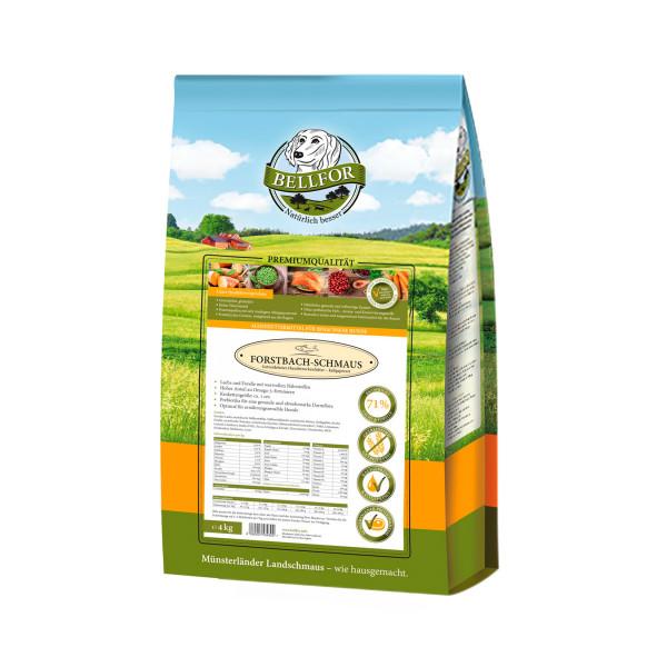Lachs & Forelle - kaltgepresstes Trockenfutter, Forstbach-Schmaus