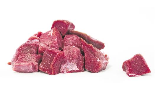 Rindfleisch in Würfeln - 850g