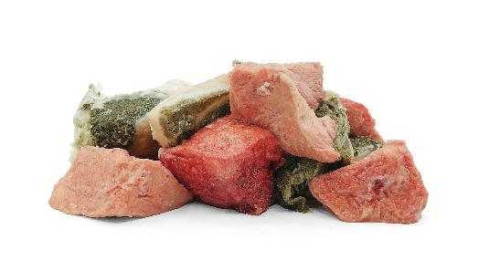 Pferdefleisch in Würfeln - 2000g