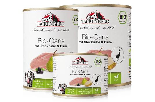 Bio-Gans mit Steckrübe & Birne