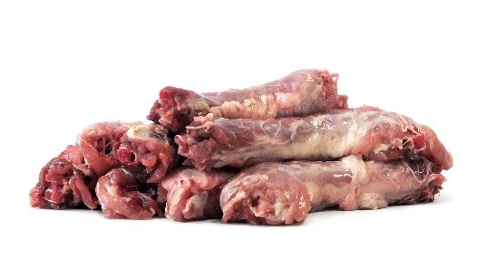 gewolfte Hühnerhälse - 500g