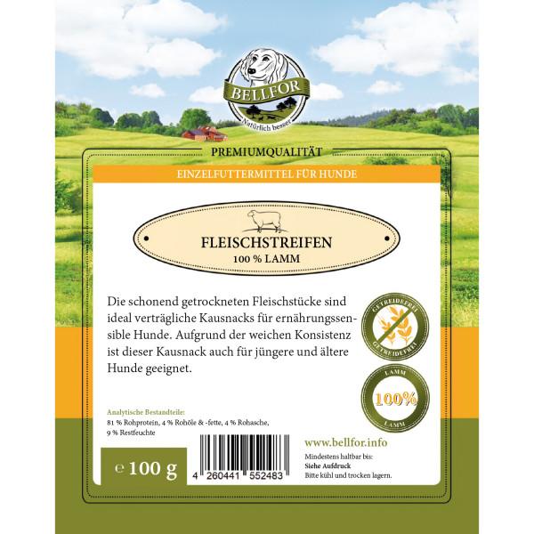 Lamm Trockenfleisch (Bellfor) - 100g