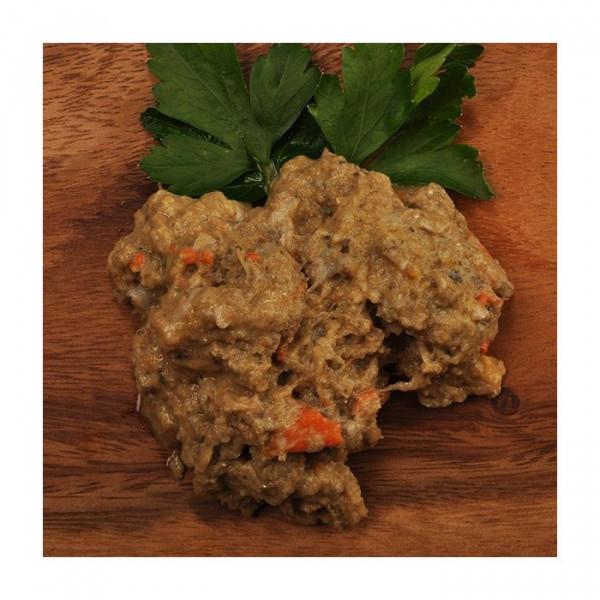 Barf-Menü mit Lachs und Lamm (Menü 2)